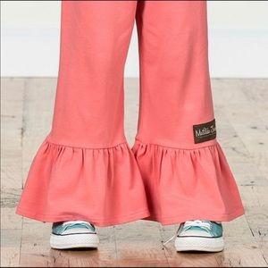 Matilda Jane hat day big ruffle pants